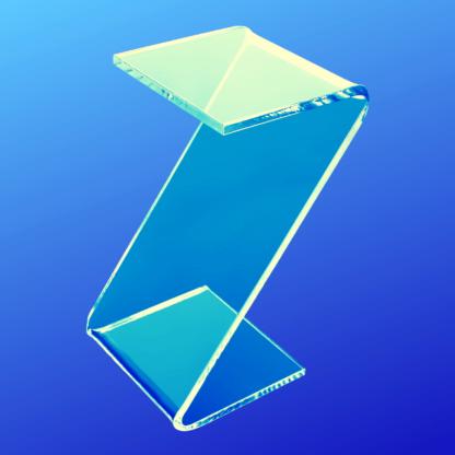 Clear acrylic Z risers