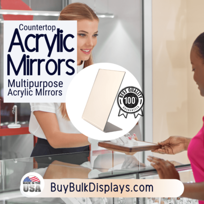 Countertop tabletop mirrors