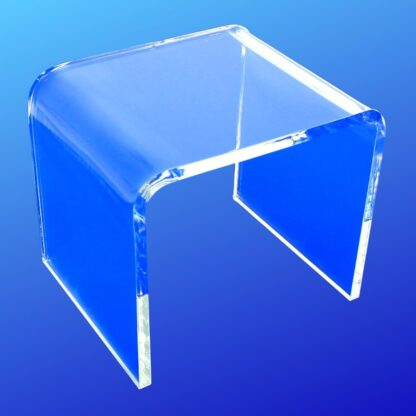 1/4 inch thick clear acrylic display riser