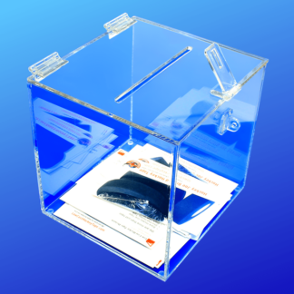 Acrylic Ballot and Contest Boxes