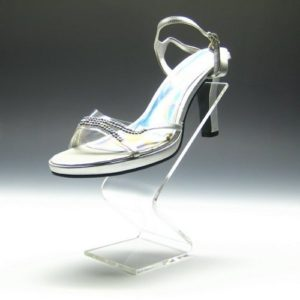 Acrylic Shoe Riser Displays