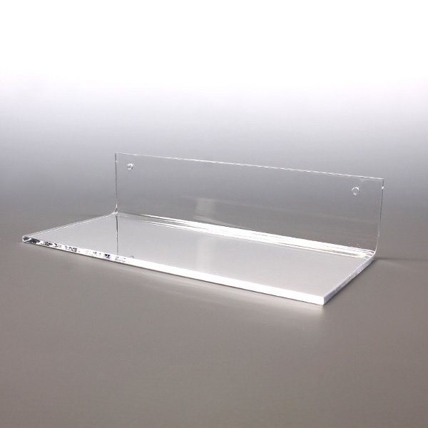 Wall mount shelves buy bulk displays for Where to buy lucite