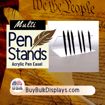 Acrylic pen easel display