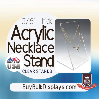 Necklace stand display