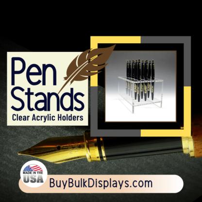 Pen stand riser for multiple pens