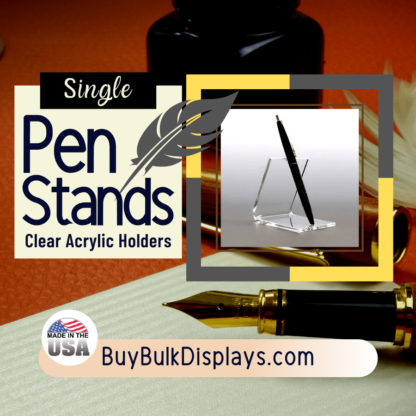 Single pen holder easel