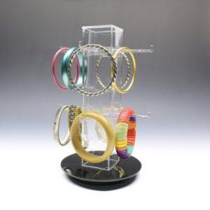 acrylic countertop rotating displays