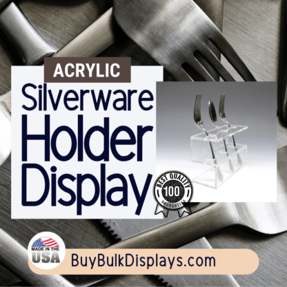 silverware holder display stand
