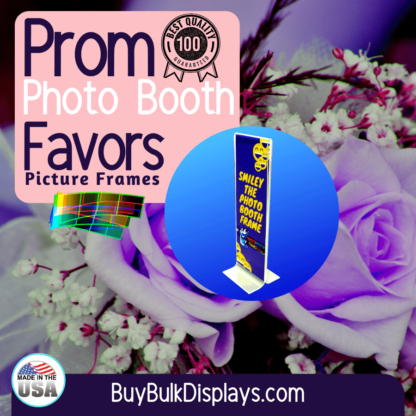 Prom photo booth favors