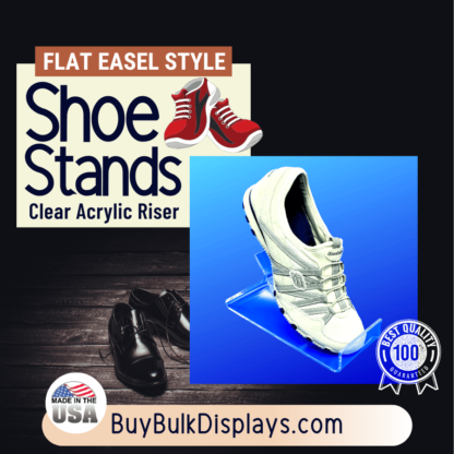 Acrylic riser for shoes