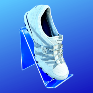 Acrylic shoe riser display