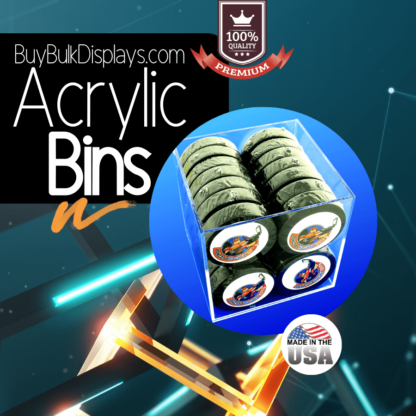 Acrylic bin