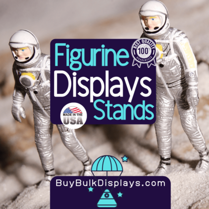 Figurine display stands
