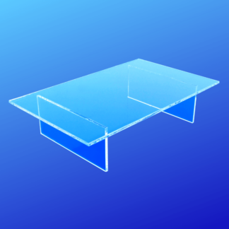 Acrylic rectangle table riser