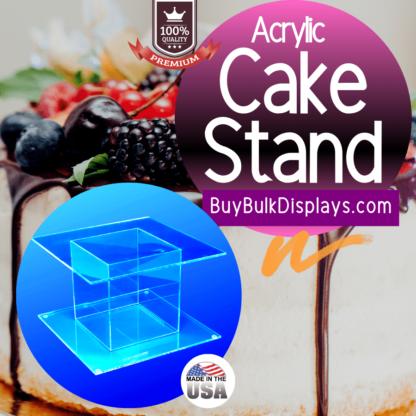 Acrylic cake and food stand