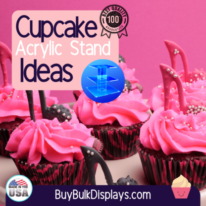 Cupcake display stand ideas