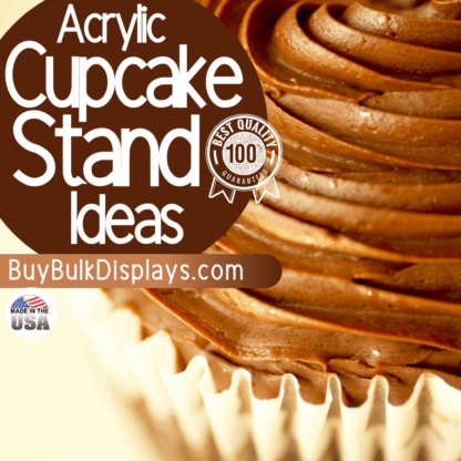 Cupcake stand display ideas