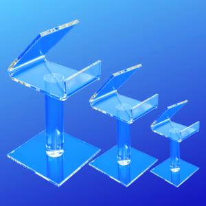 Smart phone display stand available in 3 heights