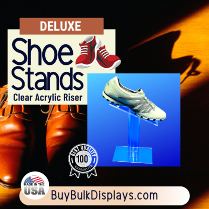 Deluxe shoe stand riser