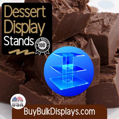 Dessert display stands
