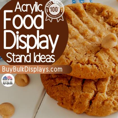 Food display stand ideas