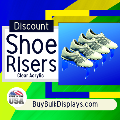Discount shoe display riser lot