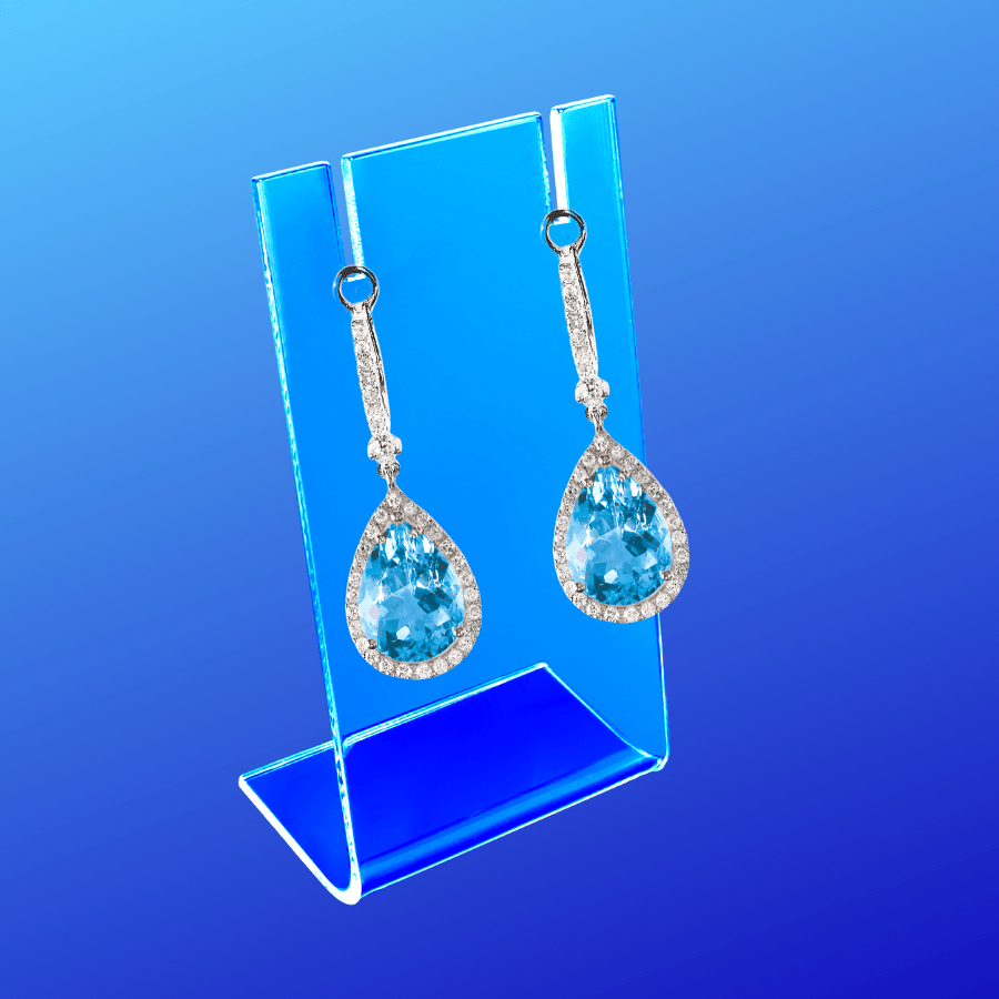 Display stand for earrings