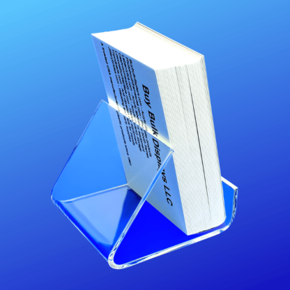 Acrylic holder for business cards or other small items