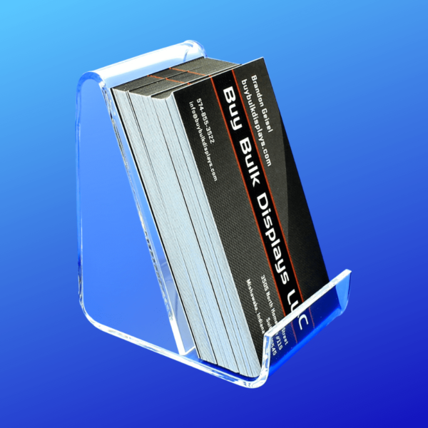 Easel holder for business cards or other small items