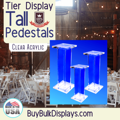 Tall Pedestal Stands
