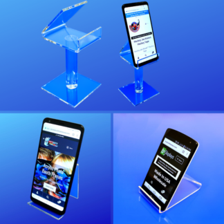 Acrylic Smartphone Universal Display Stands