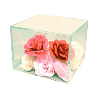 Acrylic cube riser