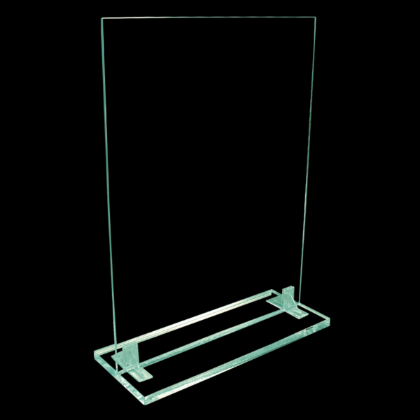 Clear acrylic check out protection shield