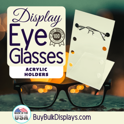 Eyeglass display holder