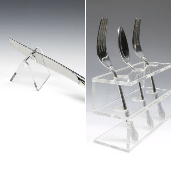 Silverware specific displays holders stands