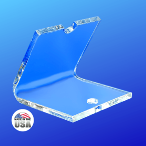 Clear Acrylic Toothbrush Holder Stand