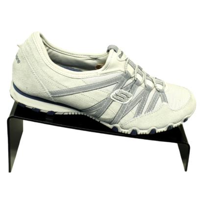 Black acrylic shoe riser