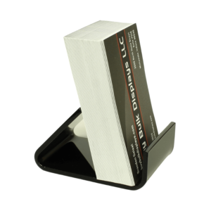 Black acrylic small stand