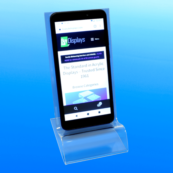 Smartphone display stand