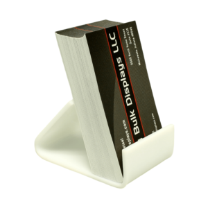 White acrylic small easel stand