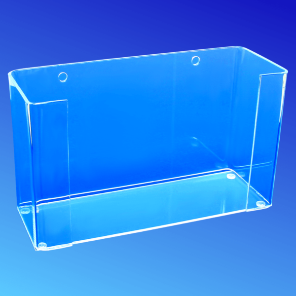 Acrylic face mask box holder
