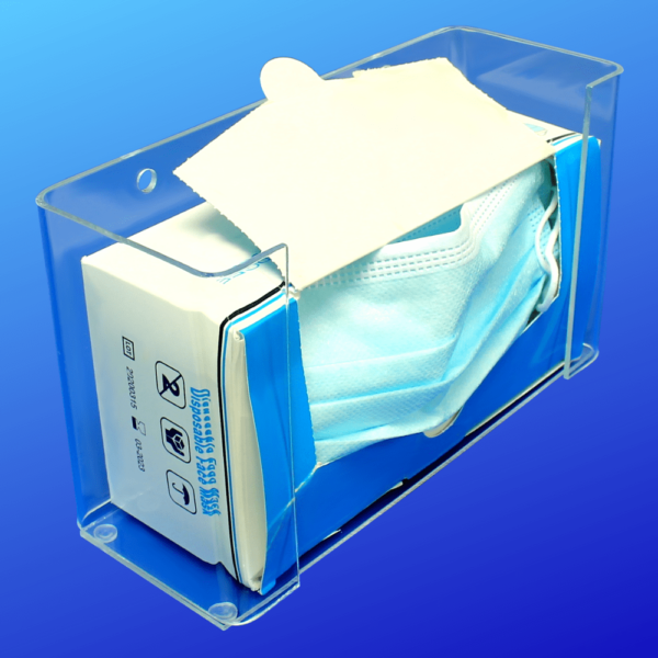 Face Mask Box Holder Dispenser